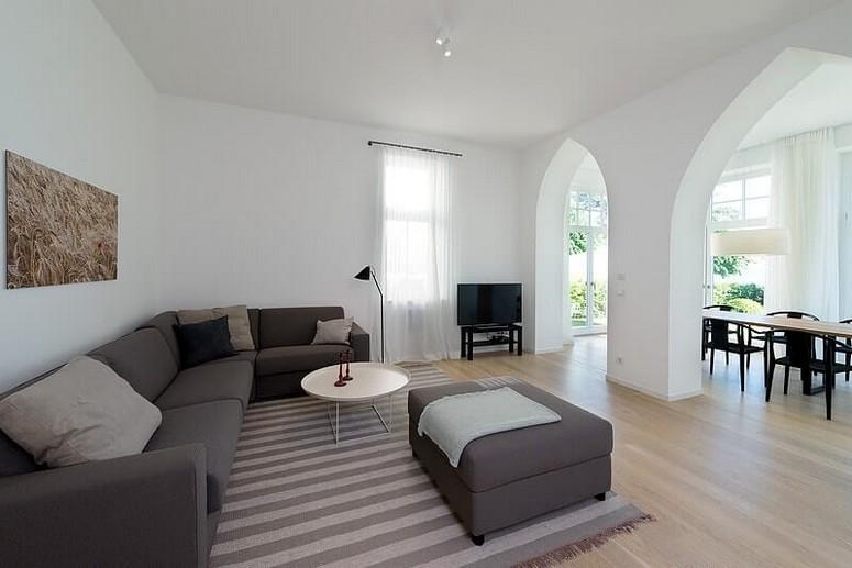 Sehr hochwertige Einrichtung in der Villa Seeblick und im Strandhaus Seeblick